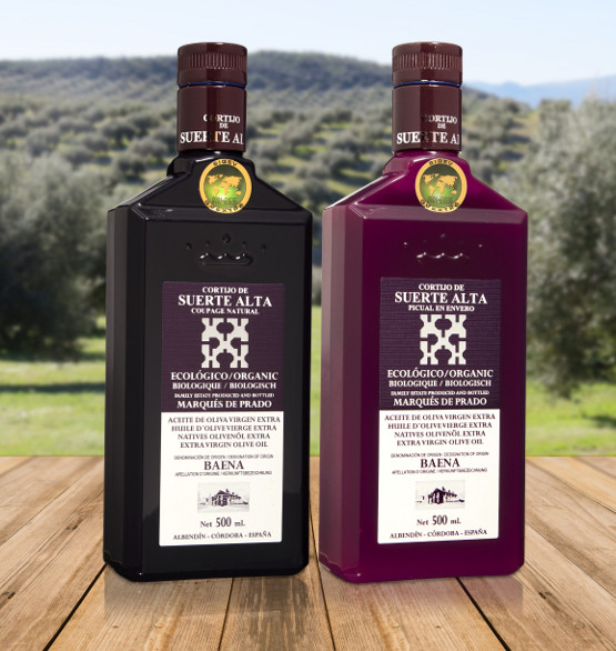 Coupage Natural + Picual en Envero. ​​​​​​​Extra Virgin Organic Olive Oil